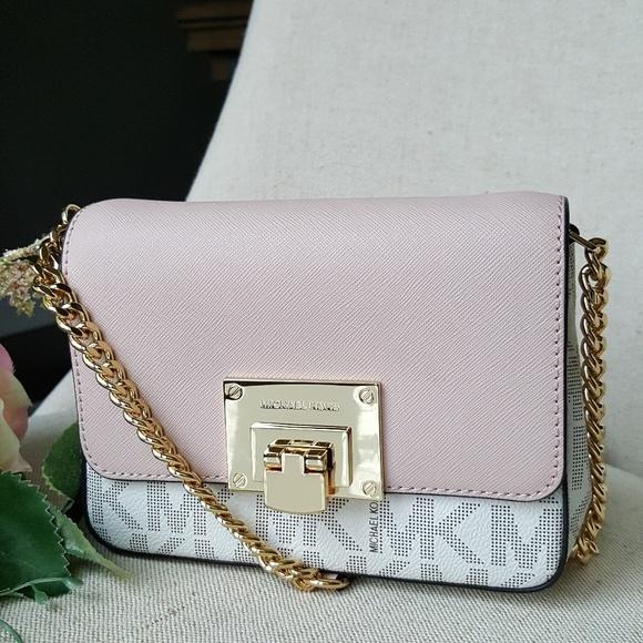 3f173631f569 Michael Kors Bags | Sm Tina Clutch Crossbody Bag Ballet | Poshmark